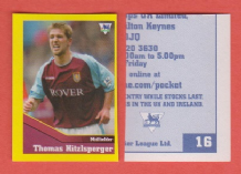 Aston Villa Thomas Hitzlsperger Germany 16 BBR